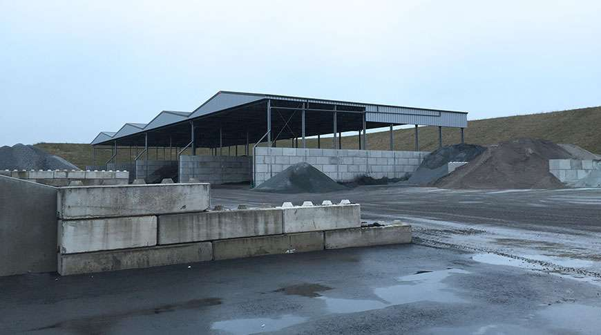 bulk storage buildings steel industrial PEB