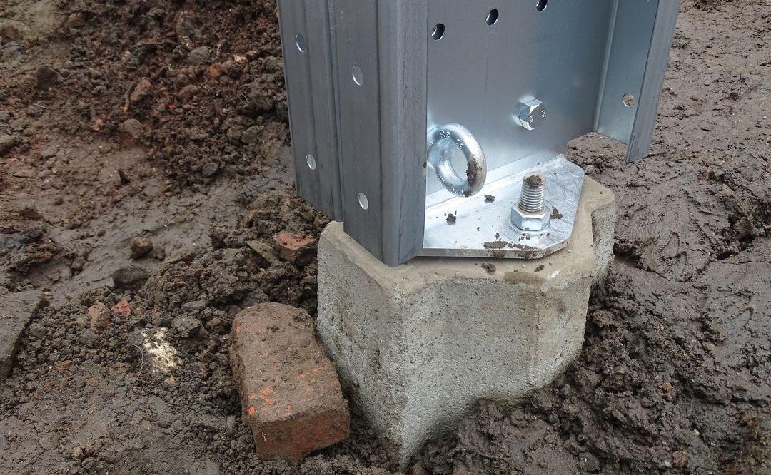 Frisomat Prefabricated block