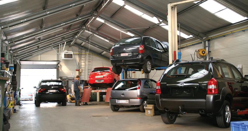 Car Service Go Series Frisomat Hall